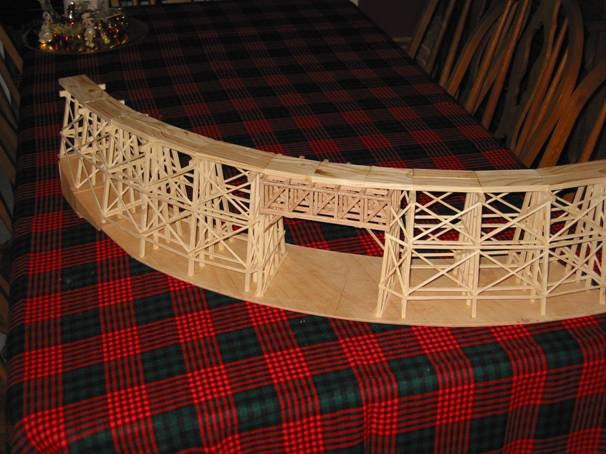 Trestle #3 with no stain