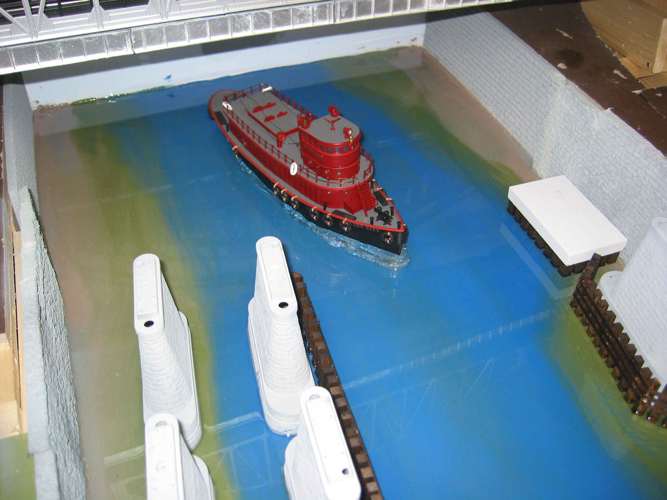 Tug basic with tug and epoxy