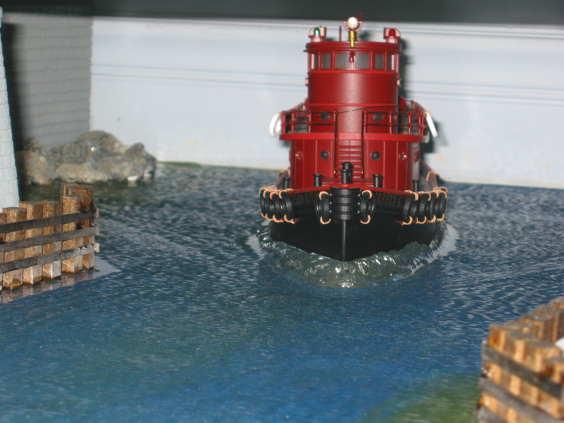 Tug installation finished