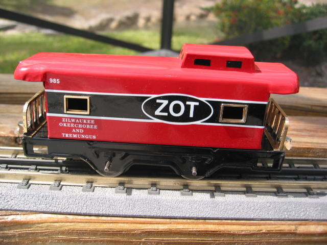 American Flyer 1127 Caboose in ZOT Colors