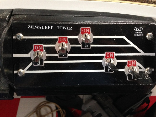 Block Shut Off Panel - Passenger Station
