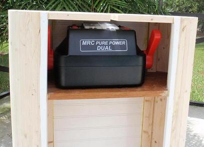 Transformer Stand - stowage position